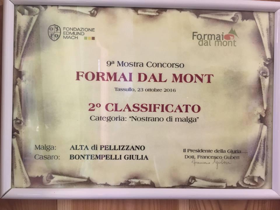 """""""Formai dal Mont"""" della Val di Sole e Val di Non"""